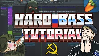 HOW TO MAKE A SLAVIC HARD BASS DROP (FL STUDIO)