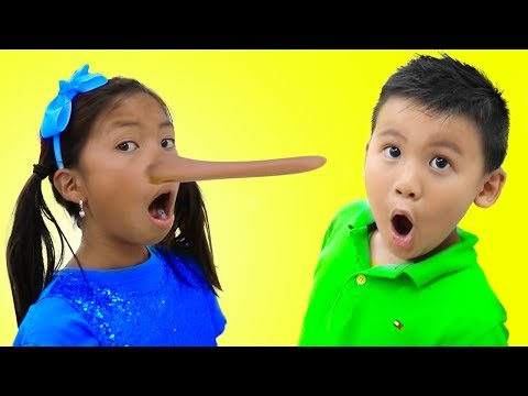 Wendy Pretend Play Magic Long Nose | Fun Kid Video