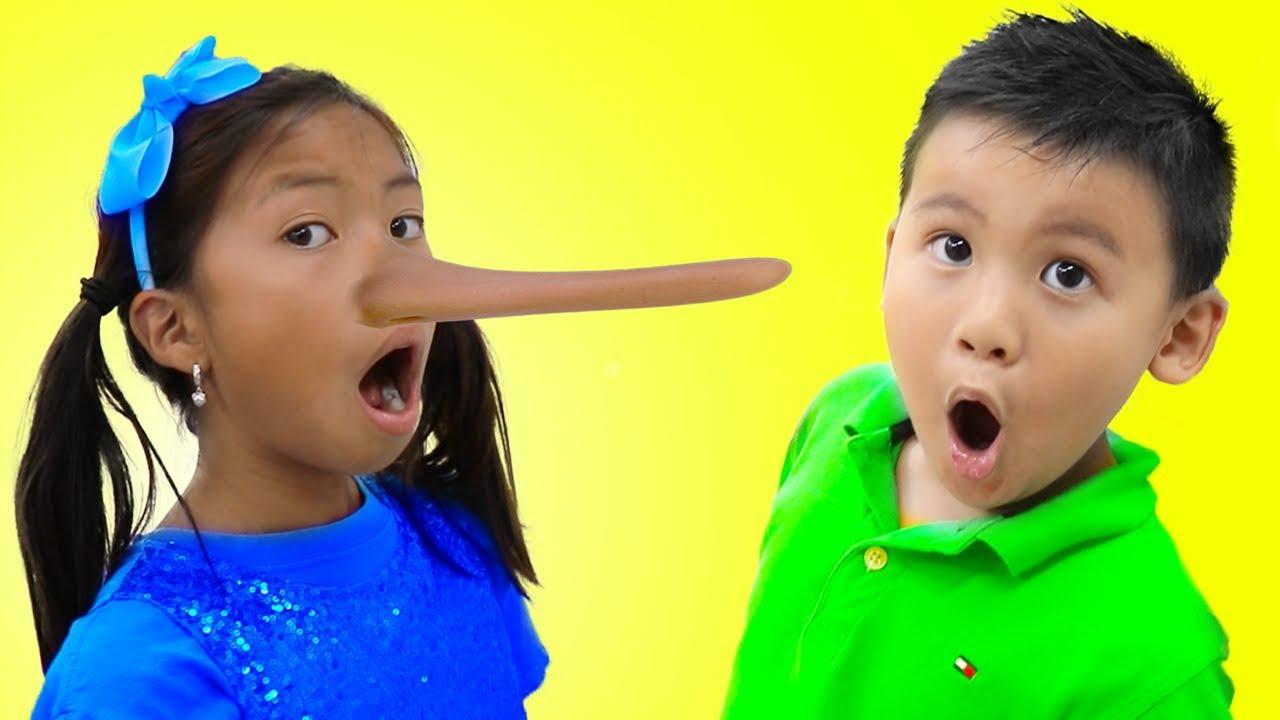 Wendy Pretend Play Magic Long Nose | Fun Kid Video