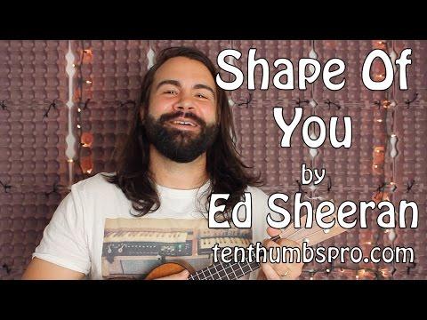 Shape Of You  Ed Sheeran  Ukulele Tutorial with tabs