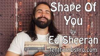 Shape Of You - Ed Sheeran - Ukulele Tutorial with tabs