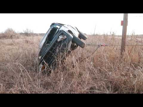 Rollover Accident with Air Evacuation, Martha Oklahoma