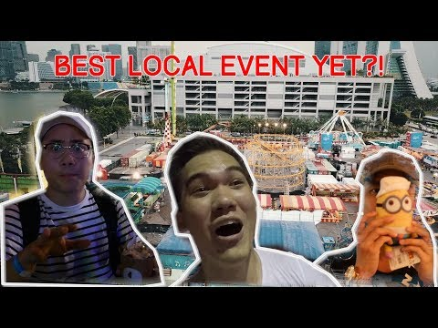 MARINA BAY CARNIVAL FULL REVIEW!! | SCARIEST RIDE EVER