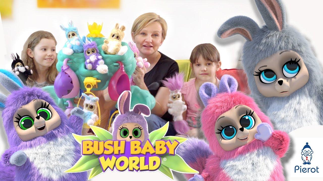 Bush Baby World,  pluszowe zwierzaczki od Pierot