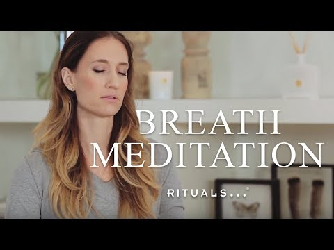 Breath and center yourself  – Guided Meditation – Yoga with Rituals