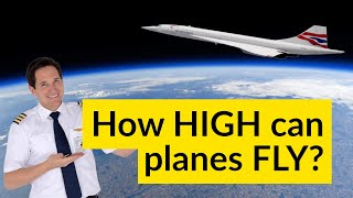 How HIGH CAN PLANES fly? What is the COFFIN CORNER? Explained by CAPTAIN JOE