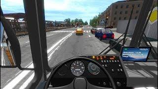 ВАЛИМ НА ПАЗИКЕ ПО ГОРОДУ - Bus Driver Simulator 2018