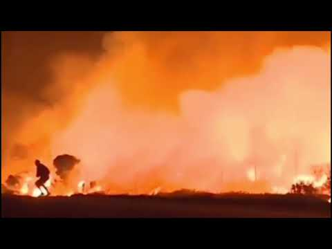 EXTREMELY GRAPHIC! ⚠️ WARNING !! PARADISE , CA & LOS ANGELES FIRES GRAPHIC VIDEO