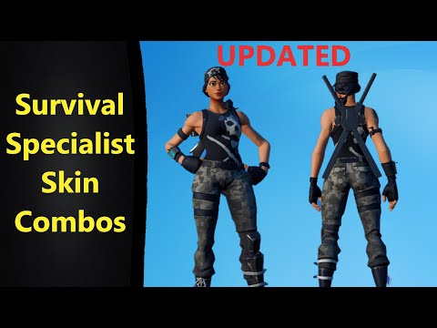 *UPDATED* Survival Specialist Skin Combos In Fortnite