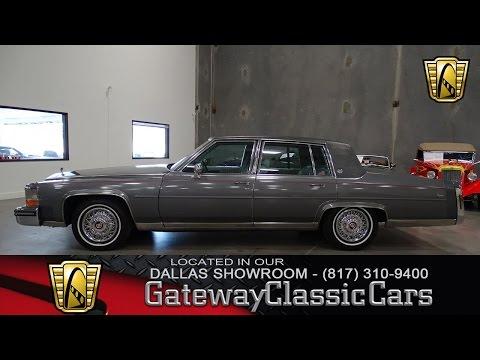 1987 Cadillac Brougham #442-DFW Gateway Classic Cars of Dallas