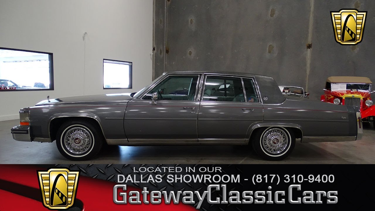 1987 cadillac brougham 442 dfw gateway classic cars of dallas youtube. Black Bedroom Furniture Sets. Home Design Ideas