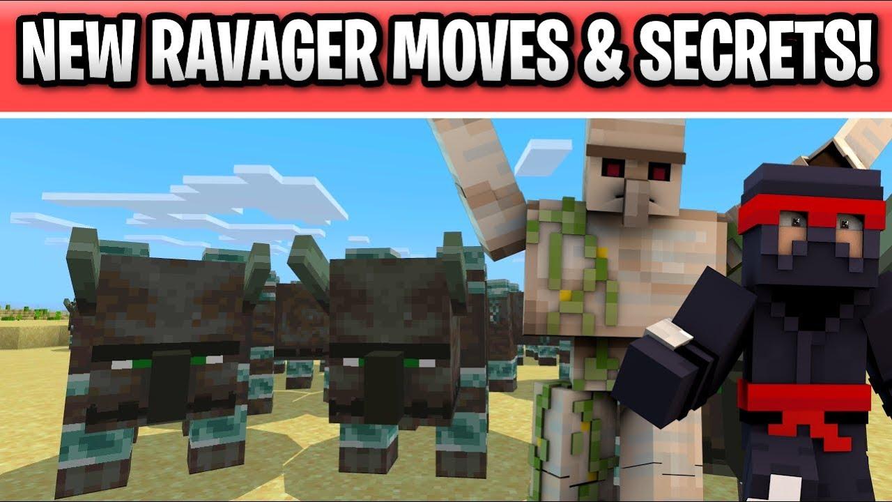 minecraft ravager mob