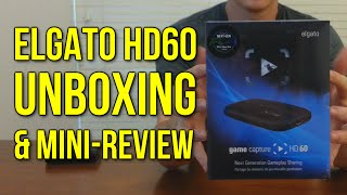 Elgato HD60 Capture Card Unboxing & Mini-Review