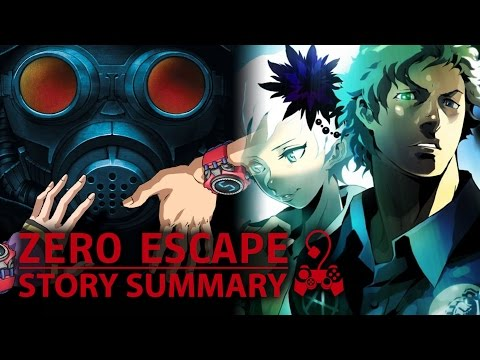 Zero Escape - What You Need to Know! (Story Summary) (999, VLR)