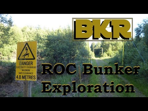Scottish Cold War ROC Bunker Exploration