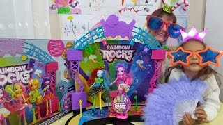 my little pony konser sahnesi, eğlenceli çocuk videosu, toys unboxing, oyuncak açımı