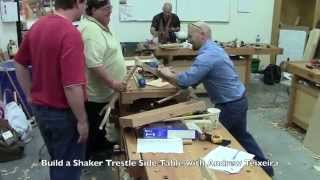 Build A Shaker Trestle Side Table With Andrew Teixeira