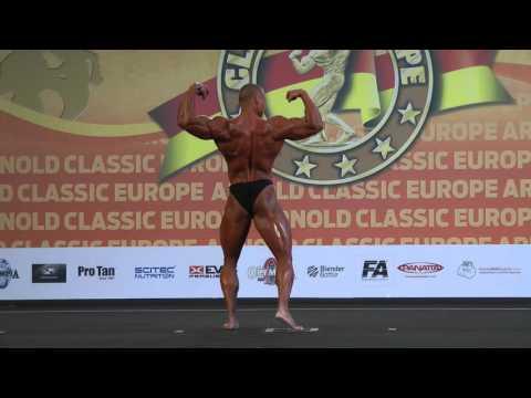 Posing Junior Bodybuilding @Arnold Europe 2015