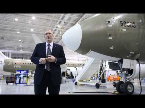 Singapore Airshow -- CSeries Program News with Rob Dewar