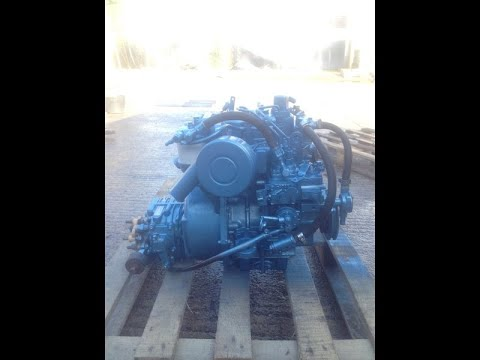 Nanni 2.60 HE Marine Diesel Engine Breaking For Spares