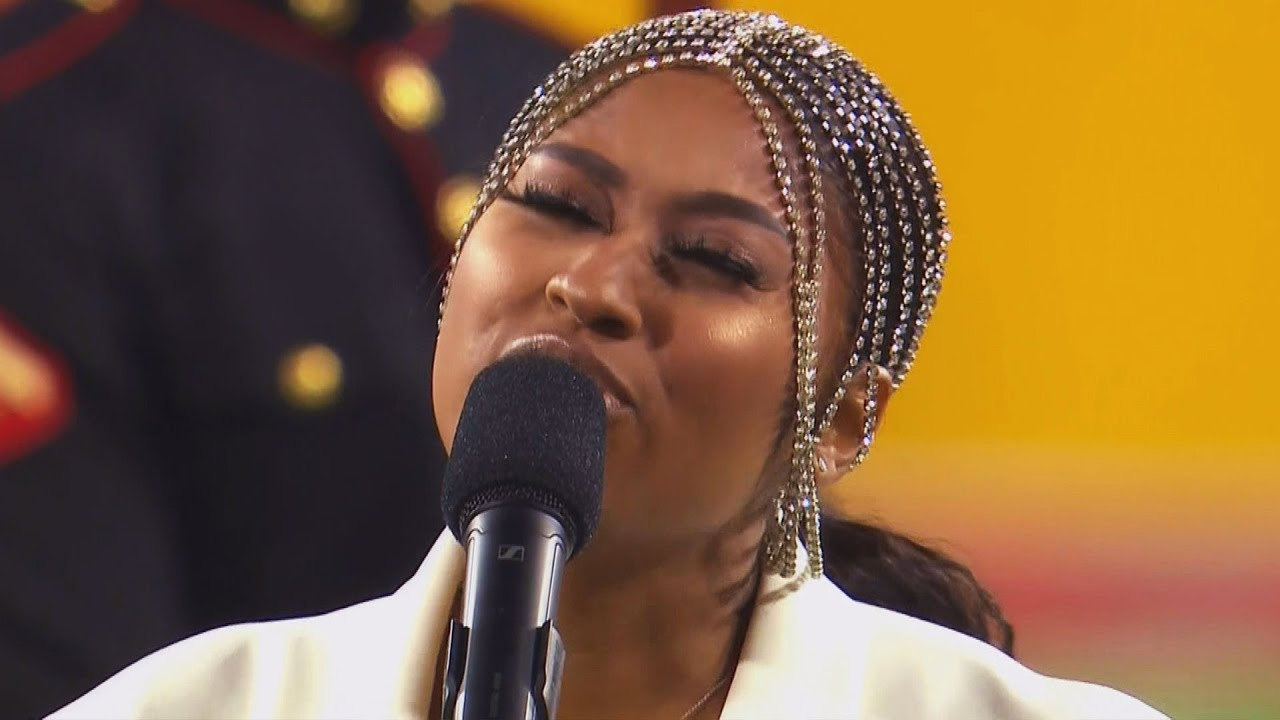 Jazmine Sullivan's Performance Of The National Anthem At The ...