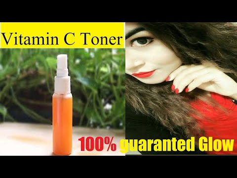 Winter glow toner   Vitamin C toner for glow   Bye Bye to dull winter skin with only 3 ingredients