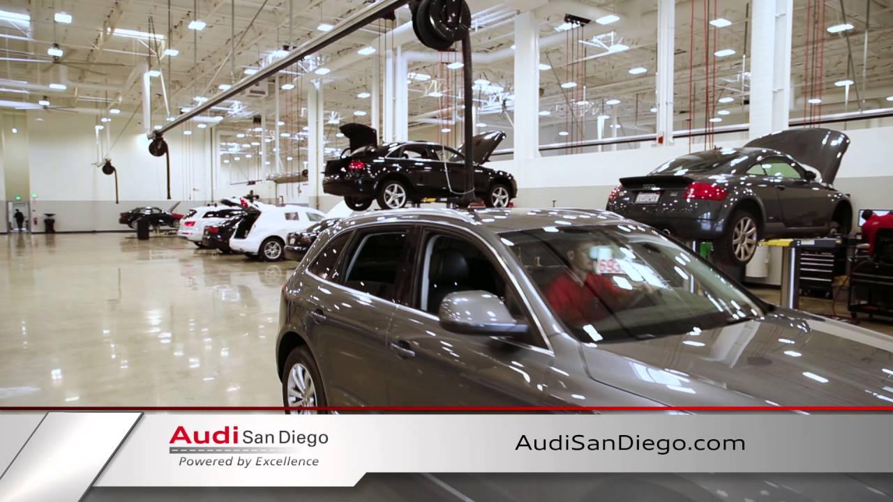 Audi San Diego Audi Service YouTube - Audi san diego