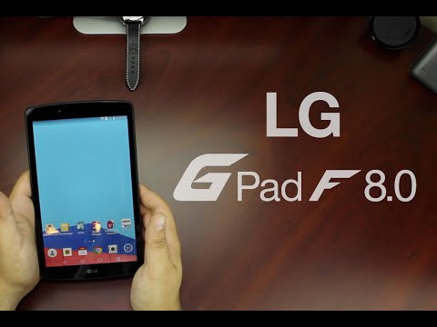 LG G Pad F 8.0 Unboxing T-Mobile And AT&T | Cars & Tech By JDM City