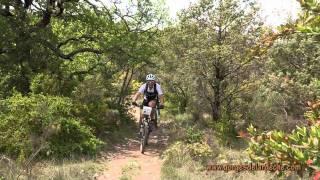 Ardèche - Raid Nature du Pont d'Arc 2011 (Part 4 / 5 ): Le parcours VTT
