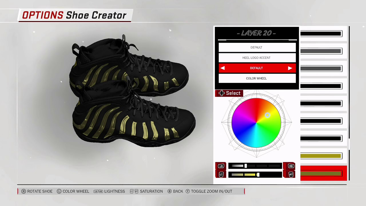 salud eco Equipo de juegos  NBA 2K18 - How To Make Nike Tn / Air Max Plus - YouTube
