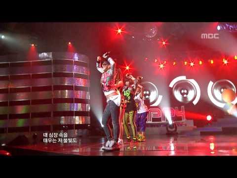 2NE1  Fire, 투애니원  파이어, Music Core 20100220