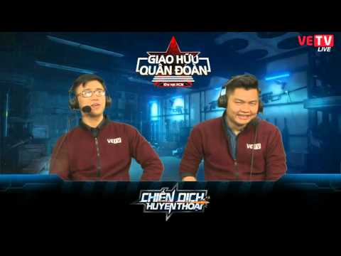 [GHQĐ - HCM] Vòng bảng: S.C.V.G Plus vs Team HCM - 23/2/2016