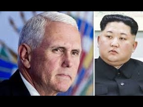 Trump MISTAKE-CANCELS NK SUMMIT: VP PENCE Responsible?