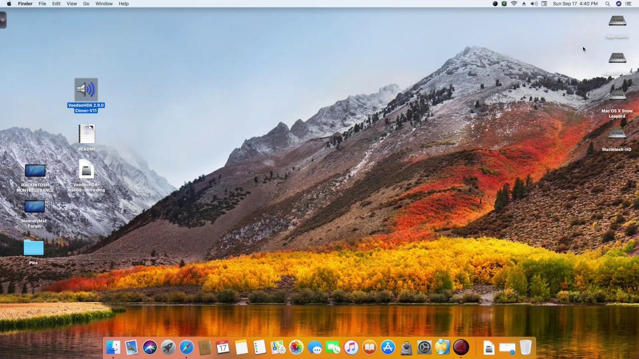 VoodooHDA macOS High Sierra