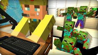 Что то пошло не так [ЧАСТЬ 4] Зомби апокалипсис в майнкрафт! - (Minecraft - Сериал)