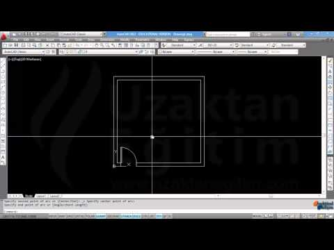 AutoCAD Örnek Video