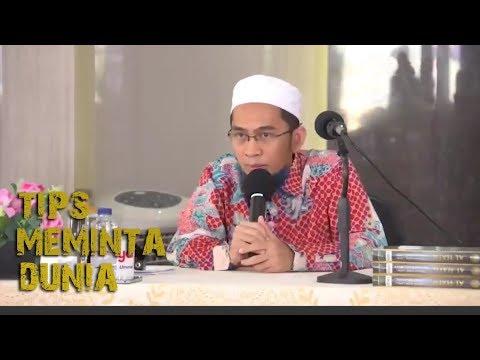 Tips Jika Ingin Meminta Dunia Kepada Allah     Ustadz Adi Hidayat Lc MA Mp3