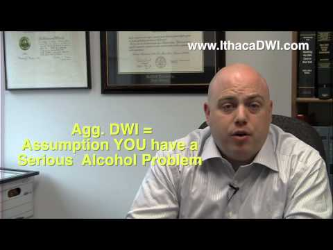 Ithaca Lawyer: Why Aggravated DWI is a BIG DEAL in New York