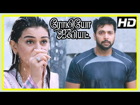 Romeo Juliet Movie Scenes | Hansika learns Jayam Ravi is not rich | Hansika and Jayam Ravi Break Up