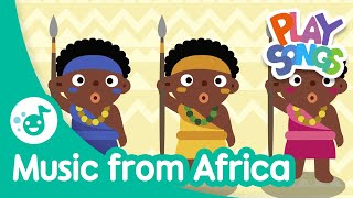 Music from Africa 🌍 | Nursery Rhymes Songs for Babies | Happy Songs for Kids | Playsongs