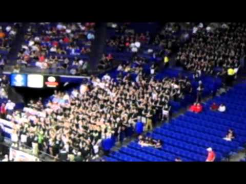 Trinity High School Student Section at Rupp Arena