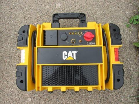 Cat 1000 Amp Pro Portable Jump Starter Review Model Cj3000 Youtube