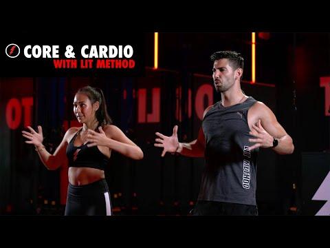 Low Impact, High Intensity Cardio & Core (No Equipment)