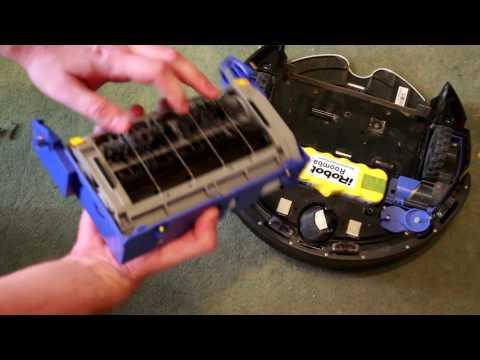 Замена блока щеток на iRobot Roomba 620