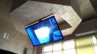 Tv ceiling lift flip drop down swivel - Flip 900