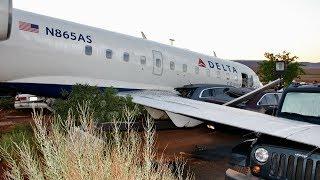 SkyWest Pilot Wanted for Murder Steals Regional Jet, Drives Into Parking Lot, Kills Self