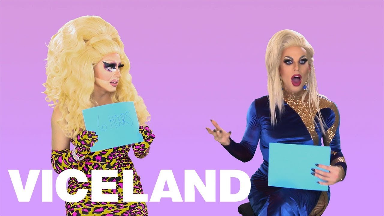 Trixie Katya Quiz Each Other About With Bestie Test E
