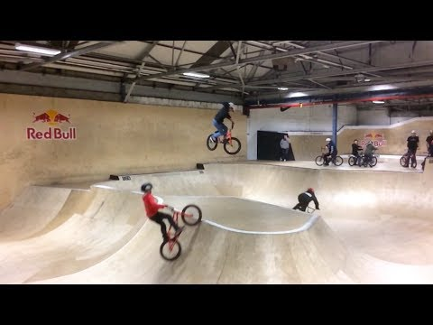 Lil Pros UK BMX Tour BONUS EPISODE: Pregaming in Scotland at Unit 23 Skatepark Travel Video