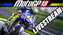 MotoGP 18 Livestream Deutsch - First Look + Karrierestart | MotoGP 2018 Gameplay German