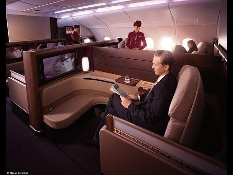 Inside Qatar Airways' new £4,000 first class suites